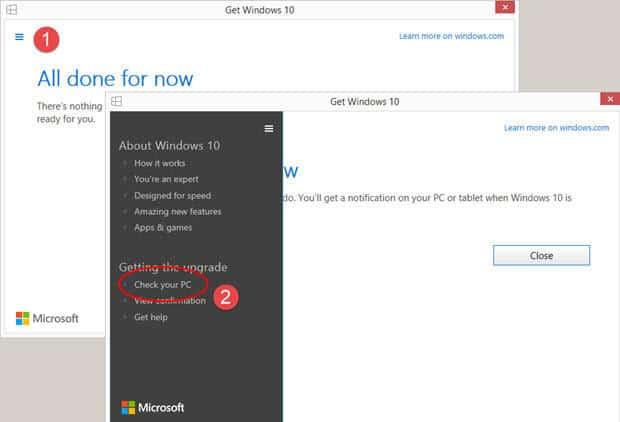 Check Windows 10 Updates