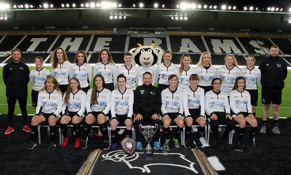 Derby County Ladies Development Squad sponsored by Your IT Department LTD