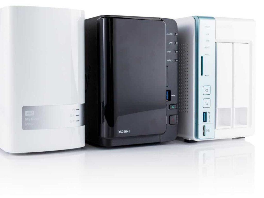 Various NAS drives