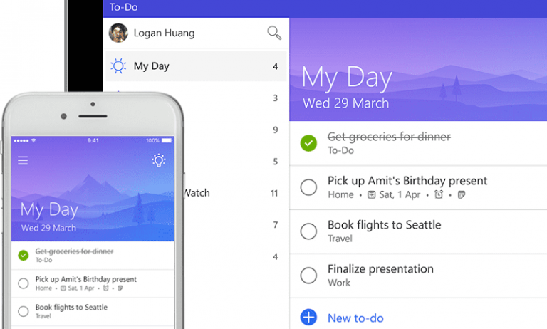 Microsofts To-Do gets an upgrade