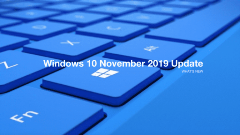 Windows 10 1909 released by Microsoft